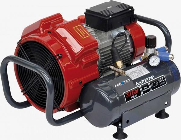 Aerotec EXTREME 30-2x9 - 30 Bar - 18 Liter ALU Kolbenkompressor