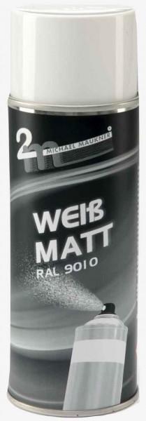 Weiß-Matt 400ml Dose Bildquelle: mit freundlicher Genehmigung 2m Michael Maukner GmbH & Co.KG