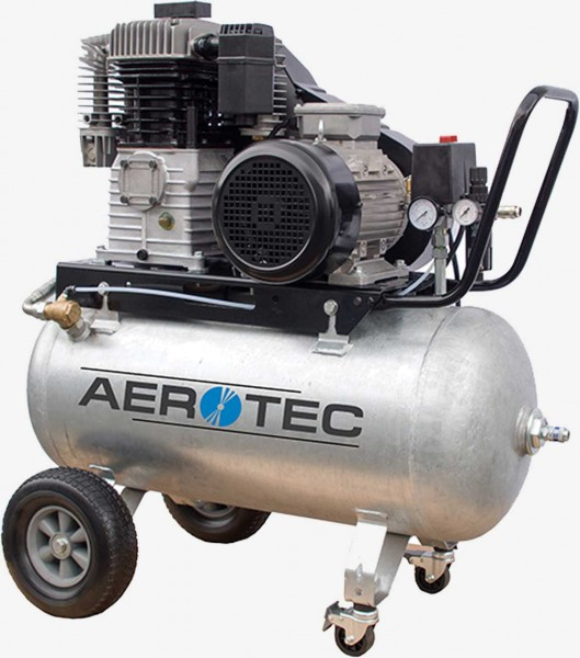 Aerotec 780-90 Z PRO - 400 Volt verzinkt Kolbenkompressor