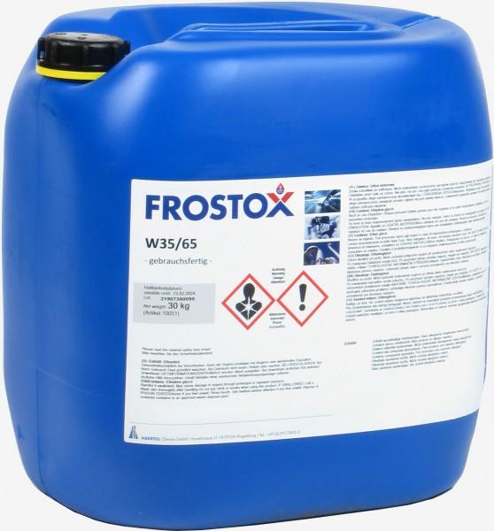 Frostox W 35/65 - Wärmeträgerflüssigkeit für Biogas und BHKW's - 30 kg Kanister