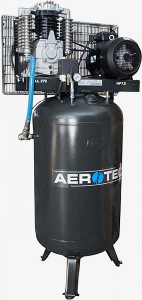 Aerotec N65-270 PRO AD2000 -K30 stehend - 400 Volt Kolbenkompressor