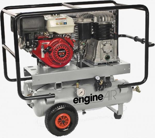 Aerotec Benzinkompressor 760- 25 + 25 HONDA kolbenkopmressor