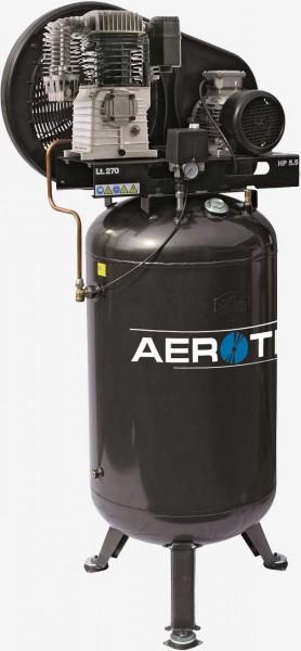 Aerotec N59-270 PRO stehend - 400 Volt 15 bar AD2000 Kolbenkompressor