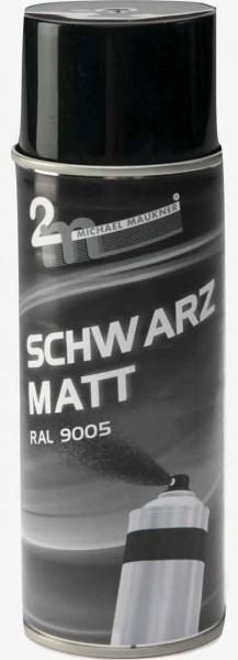 Schwarz Matt (RAL 9005) matt Bildquelle: mit freundlicher Genehmigung 2m Michael Maukner GmbH & Co.KG