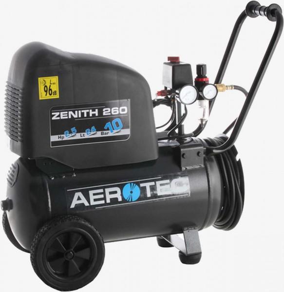 Aerotec Zenith 260 PRO ölfrei Kolbenkompressor