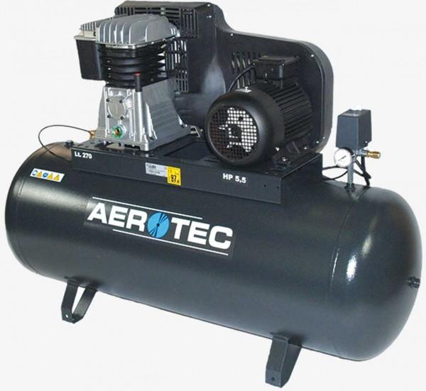 Aerotec 650-270 PRO-10 Bar liegend K25 Kolbenkompressor